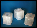 WWTLS Square Selenite Tea Light